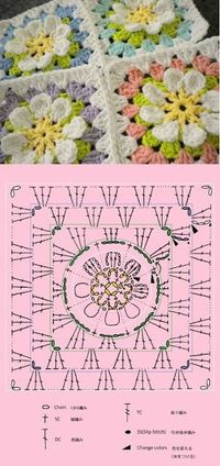 sweet granny �™� �™� ... #inspiration crochet #diy GB http://www.pinterest.com/gigibrazil/boards/