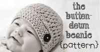 my new looks-like-knit crochet hat pattern for babies to big kids, boys and girls!