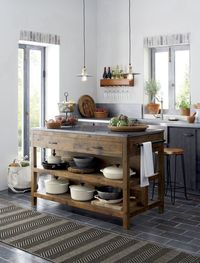 Islands are integral part of kitchens. They are usually placed in the centre of the kitchen, and are functional additions that provides extra counter space and