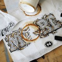 Rob Draper is a talented designer from UK. He specializes in typography, graphic design and
