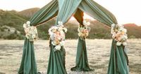Wedding Arch - Olive Pit