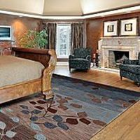 Blue and Brown Rug