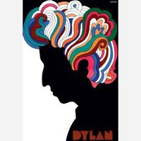 An authorized reproduction of the famous poster that was included in the Bob Dylan's Greatest Hits album in 1967. In 1954, with several university classmates, Milton Glaser co-founded the legendary PushpostStudios, whose work would define modern g...