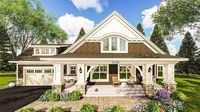 Craftsman House Plan with Two Large Porches - 14655RK | Architectural Designs - House Plans