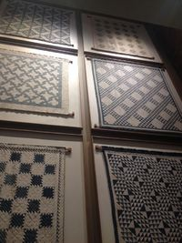 cholaquilts: Went to Boston and found these dope antique quilts hanging in some hotel.