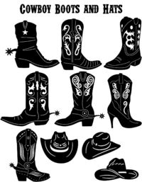 Western Cowboy Boots and Hats Just for: $24.90