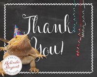 Reptile Birthday Thank You Cards Bearded Dragon Instant Download Chalkboard Party Printables Lizard Themed Kids Boys Girls Digital Download $4.30