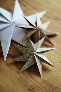 For all the simple things - making all kinds of paper ornaments