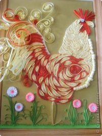 Rooster by Irina Lapina, Russia, Land of the Masters website