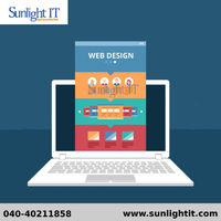 Looking for any web designs that suits your requirement then you're at the right place sunlight IT is the best web designs in Hyderabad where our professional deliver websites that suits all the requirements.