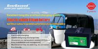 EverExceed intelligent LiFePO4 battery has been designed to use in a variety of stationary and motive power applications.