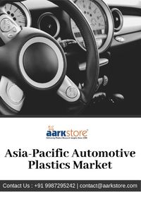 The recent automotive plastics market report analyzes the market trends, with data from 2018, 2019 and projects the compound annual growth rates through 2024. Get market insights from the Asia Pacific regions and much more information.