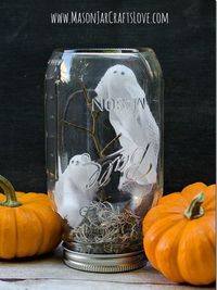 Halloween Mason Jars - Ideas for Using Mason Jars for Halloween - Country Living