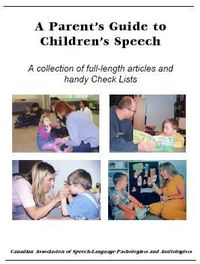 Therapy Resource of the Week: A Parent's Guide to Children's Speech by CASPLA - Pinned by