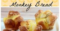 I LOVE Monkey Bread! Love, love, love it!! It's easy to make and feeds a ton of people... which, for me, are also the downfalls of it... It's too easy to make a