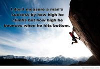 Man success quote with a impressive image