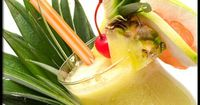 Frozen Concoctions Sweet, fruity alcoholic drinks (the kind often served with an umbrella)