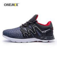 Onemix men running shoes breathable outdoor walking shoes male sport sneakers light jogging $110.16