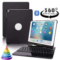 Bakeey 360 Degree Rotation 7 Backlight bluetooth Tablet Keyboard Protective Case for iPad Pro 10.5 inch