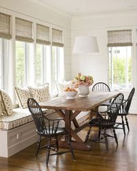 Modern Farmhouse Dining Room Decor Ideas 53