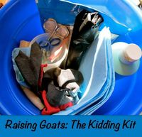 Are you ready for your goat to give birth? Plan ahead and pack your kidding kit with everything you will need for a successful goat birth!