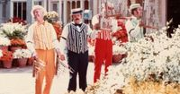 Isn't it great that some things never change? Here are the Dapper Dansharmonizing on Main Street USA during our visit in May of 1979. The quartet has been performing at Walt Disney World since the Magic Kingdom opened in 1971.