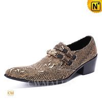 Men Leather Shoes | CWMALLS® Embossed Leather Loafers CW708215[Patented Product, Father's Day Gifts]