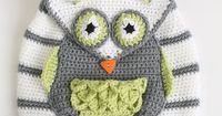 Owl See You at School Backpack - CROCHET PATTERN