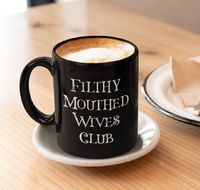 Filthy Mouthed Wives Club Coffee Mug - Persist - Resist - Tea Cup - Gift for Women $24.95