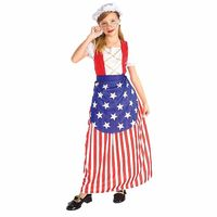 Betsy Ross Child Costume Md 8-10 https://costumecauldron.com