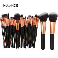 �Ÿ˜�MAANGE 20/22Pcs Beauty Makeup Brushes Set Cosmetic Foundation Powder Blush Eye Shadow Lip Blend Make Up Brush Tool Kit Maquiagem�Ÿ˜� $12.24