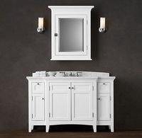 Restoration Hardware bathroom sink