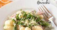 Creamy Spring Gnocchi