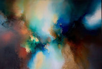 Original, contemporary, abstract expressionist painting 'From The Night' by Simon Kenny $9870.00