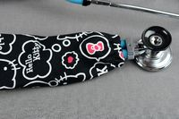 Stethoscope Cover - Hello Kitty Black $7.99