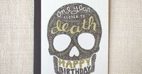"""single card, blank interior �€� SIZE: 5"""" x 7"""" �€� ENVELOPE: charcoal brown �€� PAPER: 80# speckled cardstock (recycled) �€� PACKAGING: cellophane sleeve"""