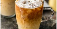 FAVORITE COFFEE RECIPE; Spiked Thai Iced Coffee! Such a refreshing, flavorful, and easy iced coffee recipe. A splash of Amaretto takes it over the top! Both coc