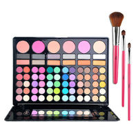 EYE SHADOW PALETTE MAKEUP KIT BLUSHER PRESSED POWDER LIP GLOSS Price:$29.99 Style: Beauty  Color: As picture
