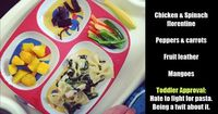 Toddler Dinners: Scheduling