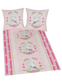 My Little Pony White Horse Duvet Cover and Pillowcase Set 100% Cotton. Machine Washable. Colour: Pink. http://www.comparestoreprices.co.uk//my-little-pony-white-horse-duvet-cover-and-pillowcase-set.asp