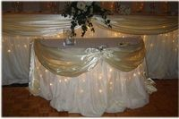 Reception, Cake, Wedding, Table, Rose, Ivory, Petals, Twinkle lights, Nes weddings