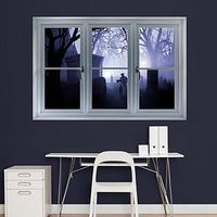 Graveyard: Instant Window - Instant Windows - Home Decor Graphics