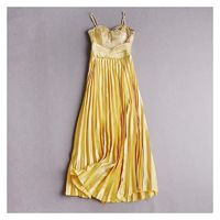 Pleated Slimming Strapless Tulle Sequined Dress Formal Wear - Discount Fashion in beenono