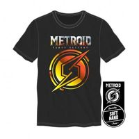 Metroid Samus Aran Returns Mens Black Tee $14.00 https://www.nurdtyme.com
