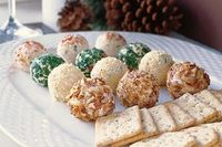 Individual Cheese Balls #party #food
