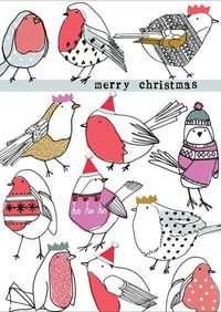 """""""Merry Christmas"""" by Stop the Clock (via Print & Pattern)."""