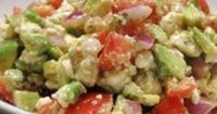 Avocado Feta Salsa - looks like the dip Kathy makes ...soooooo good!