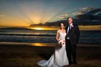 Another magnificent (and ecstatic) Maui wedding, and wedding photo by Joe D'Alessandro.