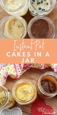 I have always thought that cakes in a jar were just the sweetest and cutest thing! They make perfect gifts or just add a lot of fun to a meal or dinner party. T