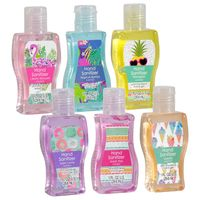 dollar tree- tropical sanitizers as favors- in store only to choose